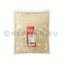 White Pepper ground 1kg cello bag Isfi