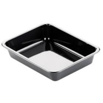 Duni CPET meal box 1 compartment 225x175x54 black 1500ml 270pcs 153414