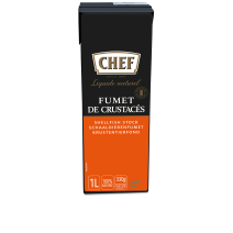 Chef Natural Shellfish stock 1L Nestlé Professional