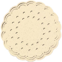 Coasters tissue champagne 9-plies 7.5cm 750pcs Duni