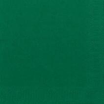 Paper napkins dark green 2-ply 1/4-folded 33x33cm 125pcs Duni