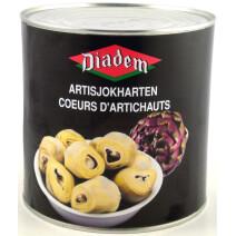 Diadem Artichoke Hearts 2500gr canned