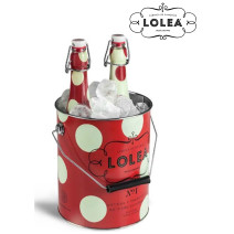 Sangria Lolea white & red 2x75cl bottle + Ice Bucket in Giftpack (Sangria)