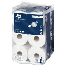 Tork Mini Toilet Paper Rolls SmartOne 2ply 12 rolls Professional 472193
