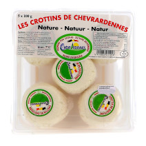 Goat Cheese Crottin Ardenne 10x100gr portions