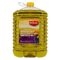 Grapeseed Oil 5L Delizio (Olie)