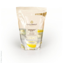 Callebaut Crispearls cereals coated with white chocolate 1.76lbs 800gr