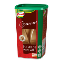 Knorr Gourmet saus poivrade voor wild 1.26kg