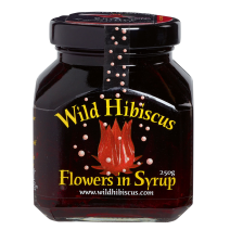 Wild Hibiscus Flowers in syrop 250gr jar