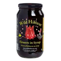 Wild Hibiscus Flowers in syrop 1100gr jar