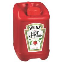 Heinz Hot ketchup 5.1L 5.9kg jerrycan