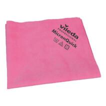 Vileda MicronQuick Micronfiber Cleaning Cloths 38x40cm red 5pcs