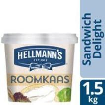 Hellmann's Sandwich Delight roomkaas natuur 1.5kg