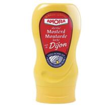 Amora Musterd Dijon 265gr Squeeze Bottle Top Down
