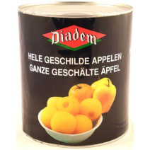 Whole Peeled Apples without core 3L Diadem