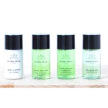 Body Lotion + Douchegel + Conditioning Shampoo + Hair & Body Gel 20ml 4x110st Bienvenue