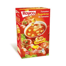 Royco Minute Soup Tomatosupreme 20pcs Crunchy