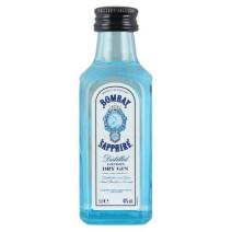 Miniature Bombay Gin Sapphire 5cl 47%