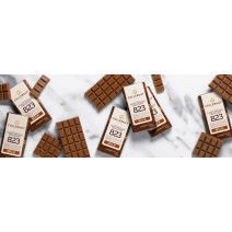 Callebaut Napolitains Chocolate 823 Milk 75pcs Wrapped Individually