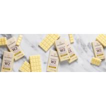Callebaut Napolitains Chocolate W2 White 75pcs Wrapped Individually