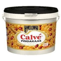 Calve Pindakaas 10kg emmer