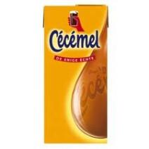 Cecemel Chocolate milk 1L Brick recap Friesland Campina