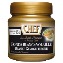 Chef Premium White Chicken stock 630gr Nestlé Professional