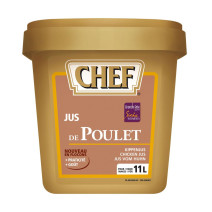 Chef chicken jus flakes 550gr Nestlé Professional