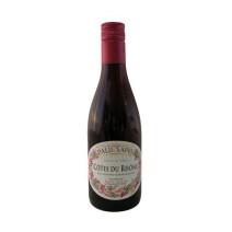 Cotes du Rhone red wine AOC 25cl Paul Sapin bottle screw cap