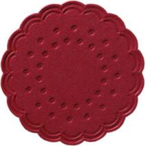 Coasters tissue bordeaux 9-plies 7.5cm 250pcs Duni