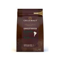 Barry Callebaut Origine Chocolate callets dark Sao Thomé 2,5kg 5.5lbs