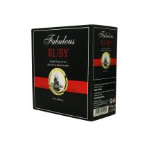 Aperitief op basis van wijn Fabulous rood ruby 2.25L 19% Bag in Box