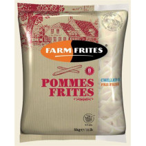 Farm Frites Vers Voorgebakken Frieten 8mm Gastrofarm 2x5kg FRIGO