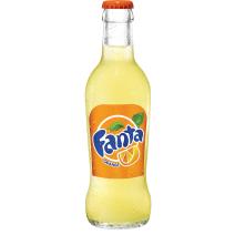 Fanta Orange 20cl fles glas