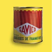 Frankfurter worsten 50gr Savico 32st