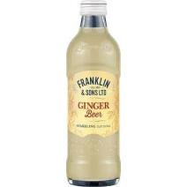 Franklin & Sons LTD Brewed Ginger Beer 200ml