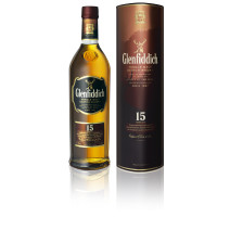 Glenfiddich 15 Years Old 70cl 40% Speyside Single Malt Scotch Whisky