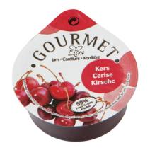 Individual Cherry jam portions 50%fruit cups 100x25gr Gourmet
