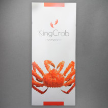 Norseaco King Krab legs cooked 150-400g/st IQF 3.6kg