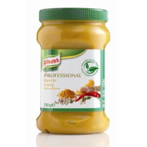 Knorr pureed herbs curry 750gr Professional