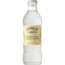 Franklin & Sons LTD Natural Indian Tonic Water 200ml