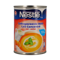 Nestle concentrated milk evaporated 410gr 385ml