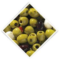 Pitted olives marinated Provencal 3.4kg 5L De Notekraker