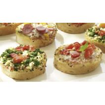 Panesco Mini Bruschetta Broodjes Mix 72x38gr 5001305