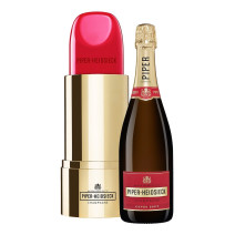 Champagne Piper Heidsieck 75cl Brut Lipstick Edition Gift Box