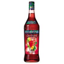 Vedrenne Grenadine Syrup 1L 0%