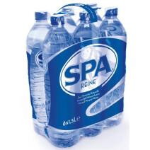 Spa Reine Natural Mineral Water 1.5L PET bottle
