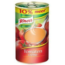 Knorr tomato cream soup 51.5cl canned