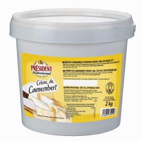 President Creme de Camembert Cheese Spread 2kg
