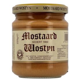 Mustard Mostaard Wostyn 225gr